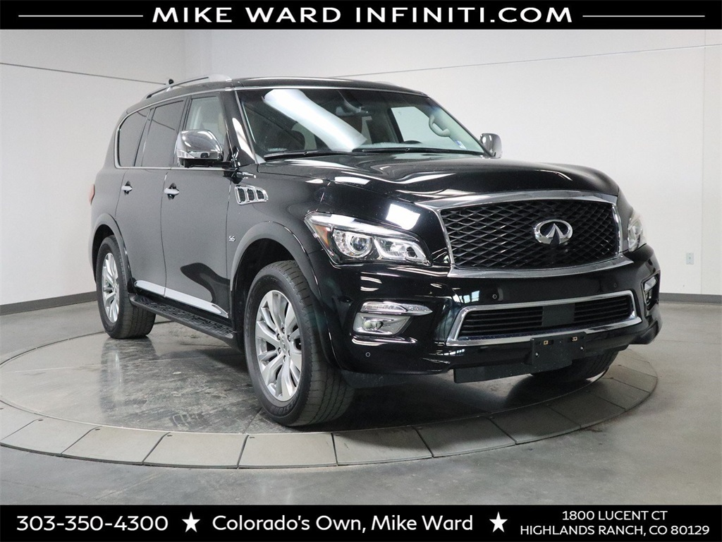 Pre-Owned 2016 INFINITI QX80 AWD