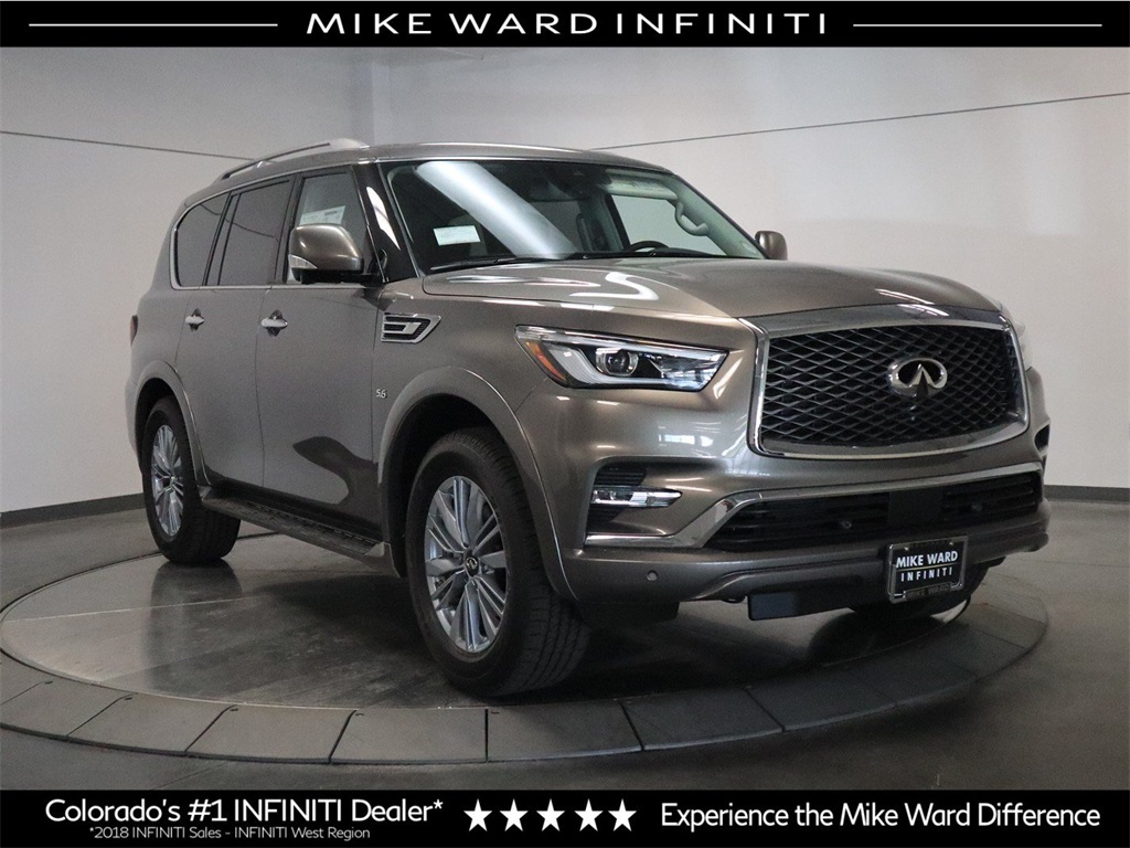 New 2019 Infiniti Qx80 Luxe 4wd Suv In Highlands Ranch 233009