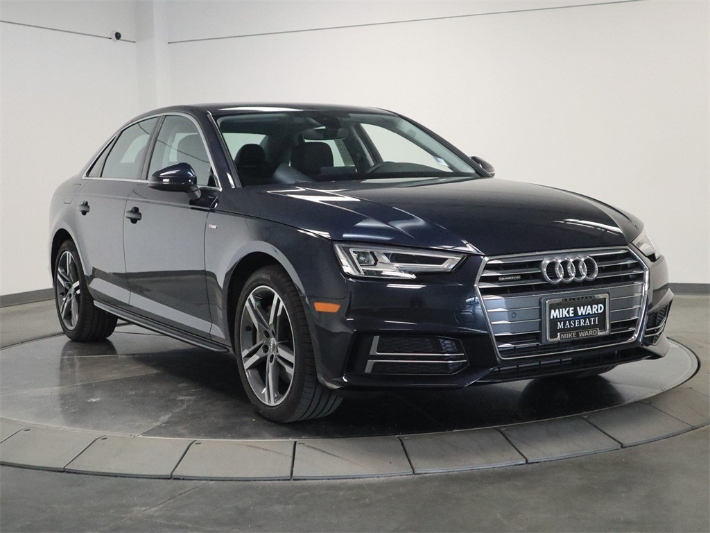 Audi A4 2.0 T >> Pre Owned 2018 Audi A4 2 0t Premium Plus
