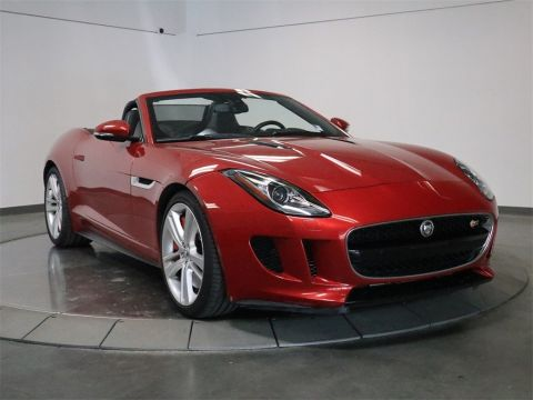 Pre-Owned 2014 Jaguar F-TYPE V8 S