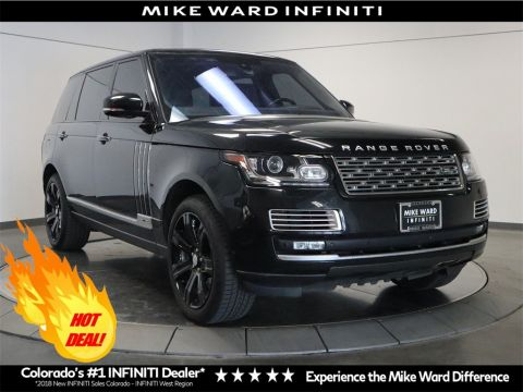 Pre-Owned 2015 Land Rover Range Rover 5.0L V8 Supercharged Autobiography Black